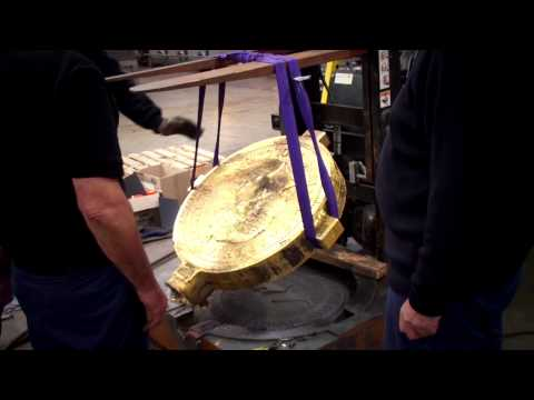 Perth Mint One tonne coin road show video