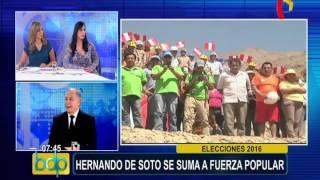 Elecciones 2016: Hugo Guerra analiza números de recientes encuestas
