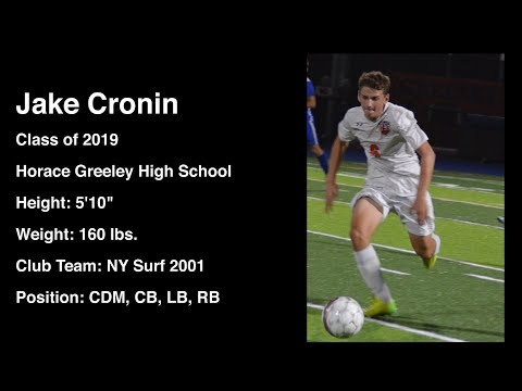 Jake Cronin - Class of 2019 - Horace Greeley High School