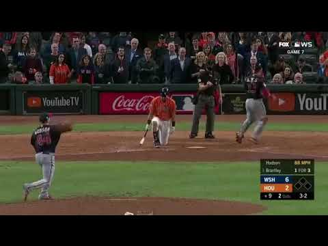 Final Pitch Of the 2019 WORLD SERIES | Nationals Win World Series