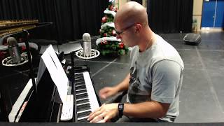 Love Is Bigger Than Anything In Its Way - U2 Lockyer's Piano Cover Live