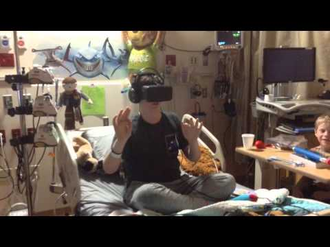 Oculus Rift takes sick kids beyond the hospital - C.S. Mott Children