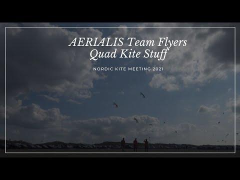 NKM2021 - AERIALIS Team Flyers Doing Quad Kite Stuff