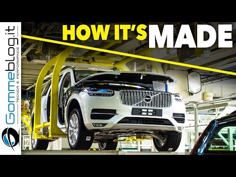 Volvo XC90 2017 CAR FACTORY - HOW IT'S MADE Manufacturing SAFETY Luxury SUV