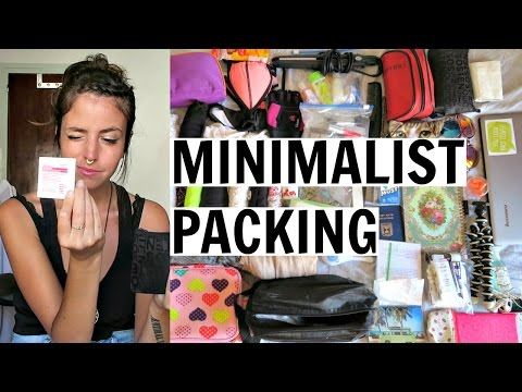What I Pack for 2 Years Of Travel In A Carry On | Minimalist Backpacking
