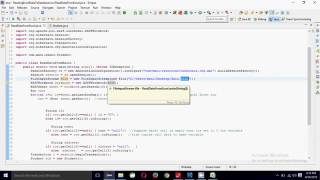 Reading Excel data and store in database | Java programming