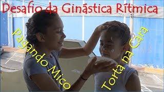 19 Desafio Ginástica Rítmica pagando Mico III - Aninha & Rafa (challenge rhythmic gymnastic)