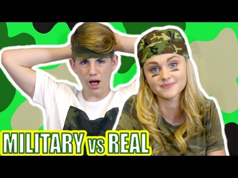 Military Food vs Real Food (MattyBRaps vs Ivey)