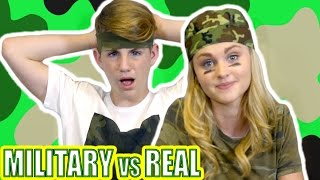 Military Food vs Real Food (MattyBRaps vs Ivey)
