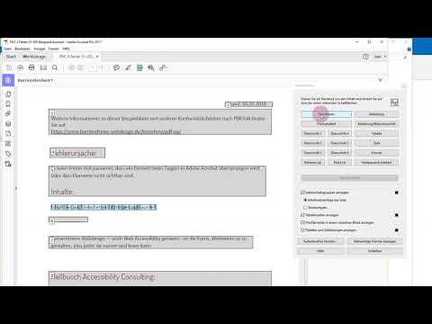 """PAC 3-Fehler """"Nicht Getaggtes Textobjekt"""" In Adobe Acrobat Korrigieren"""