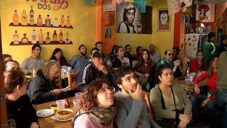 Mexicanos residentes festejaron la victoria ante Corea del Sur