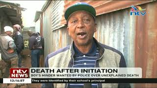 Download Video A 16 year old boy from Kwambira in Limuru dies a day after initiation MP3 3GP MP4