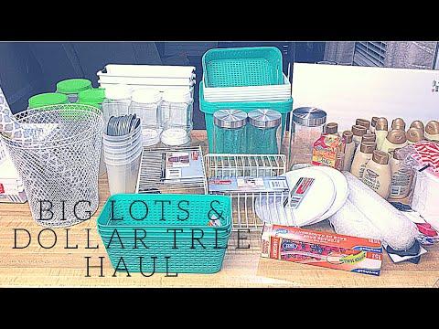 Big Lots & Dollar Tree Haul 2018
