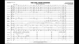 the girl from ipanema arranged by paul murtha