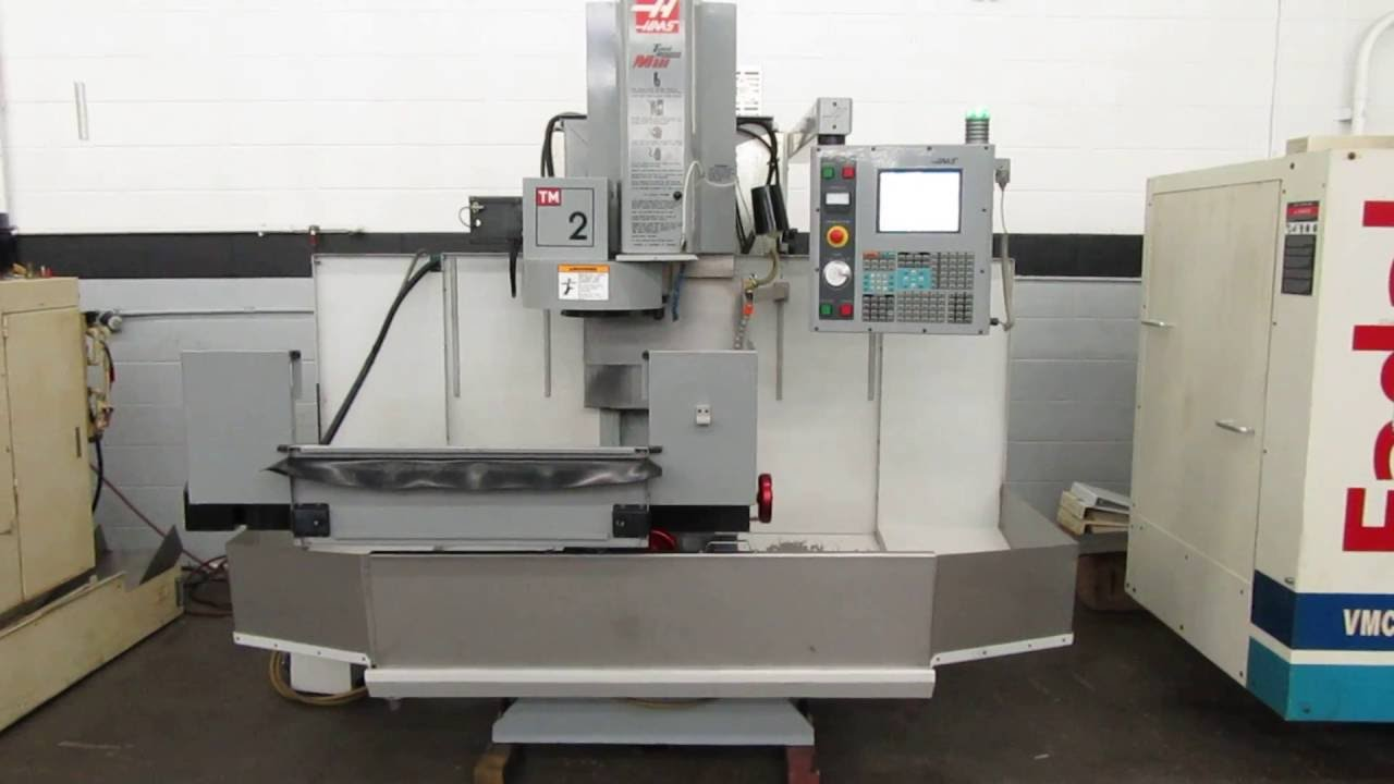 haas tm 2 cnc toolroom mill for sale at www machinesused com youtube rh youtube com haas tm 2 operators manual Haas Tm- 6