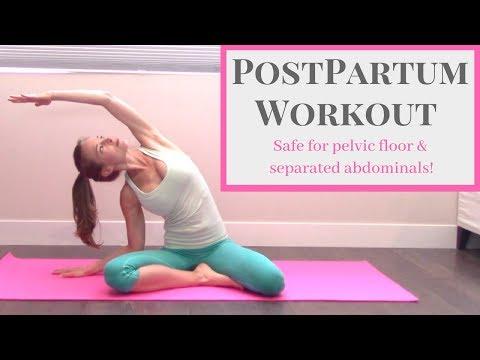 PostPartum Workout Postnatal Pilates