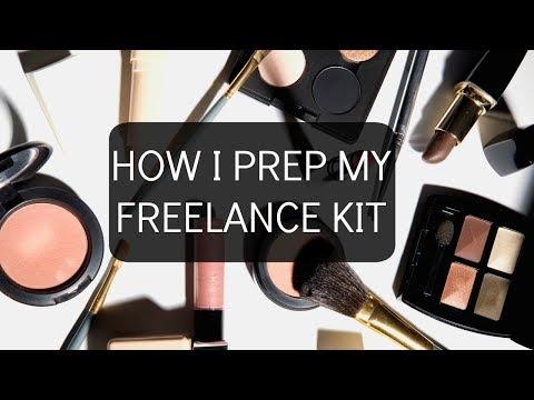 How I prep my freelance kit for Jobs/ Santizing & Organizing tips