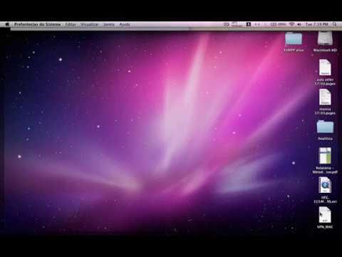 Tutorial: Configurando rede VPN USP em MAC OS
