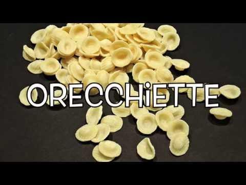 Italian Lesson n.19 : la pasta - pasta shapes little dictionary [dried pasta]