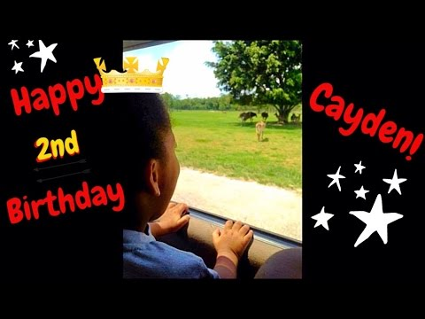 Lost Footage: Cayden's 2nd Birthday at Lion Country Safari! (5/20/16)