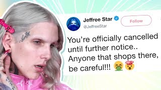 Jeffree Star Cancels Makeup Brand After Seeing What
