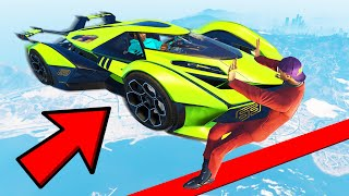 IMPOSSIBLE SUPERCAR DODGE CHALLENGE in GTA 5!