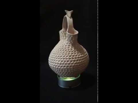 Stella Shutiva Acoma Pueblo Wedding Vase Youtube