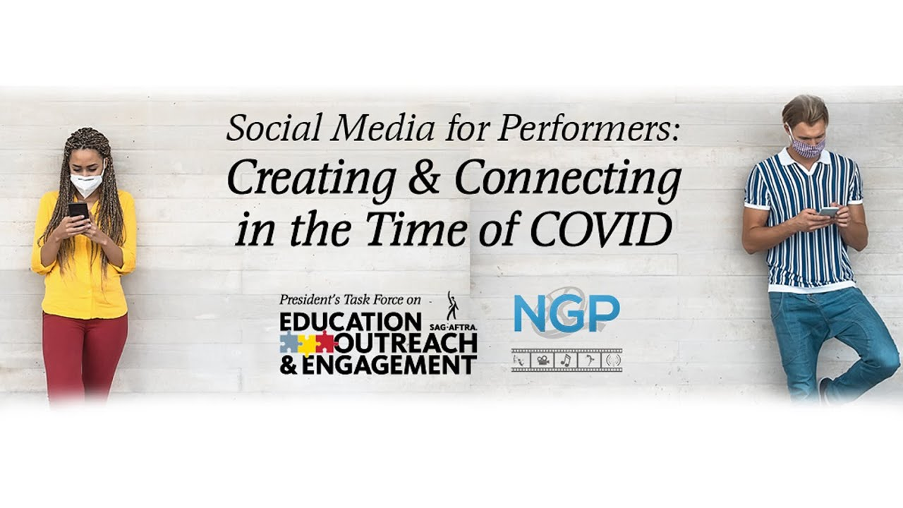 Social Media for Performers: Creating & Connecting in the Time of COVID (Replay)