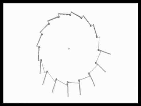 Failed gravity wheel design #1