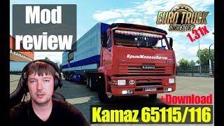ETS2 1.31 MODS|КамАЗ 65115 /65116|Обзор Модов Euro Truck Simulator 2