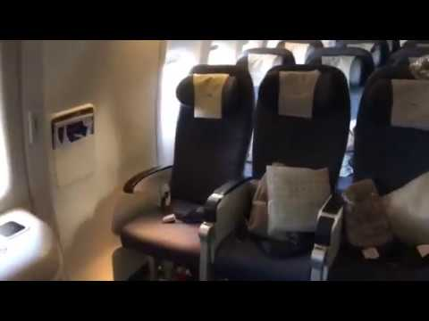British Airways 777 exit row seats row 37