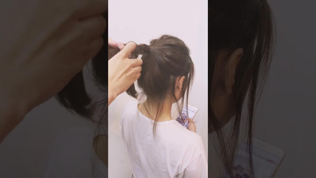 Buộc tóc đẹp đơn giản tiết kiệm thời gian   Khái quát các nội dung về cách buộc tóc ngắn ngang vai đẹp chính xác