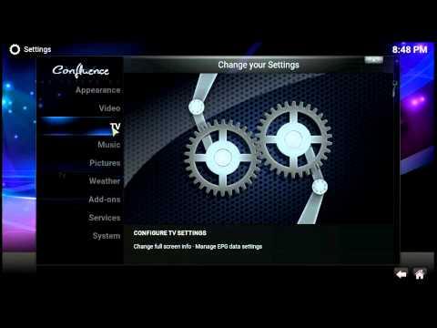 XBMC / KODI ~ Setup PVR IPTV Simple Client For LIVE TV
