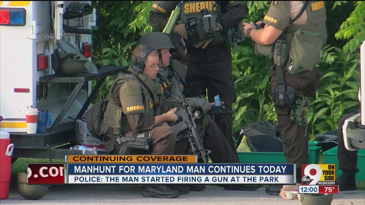Kentucky National Guard Swat Teams Search Big Bone Lick State Park