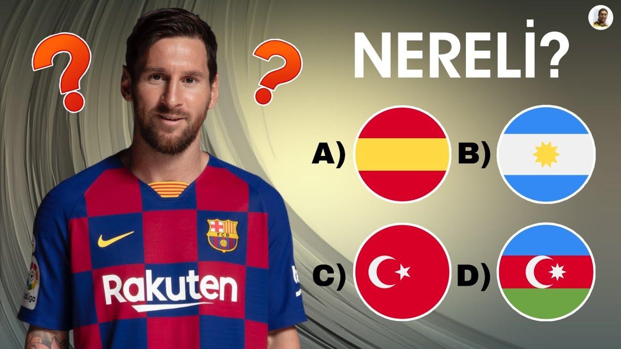 Futbol Testi - Bu Futbolcunun Kim Olduğunu Tahmin Et?