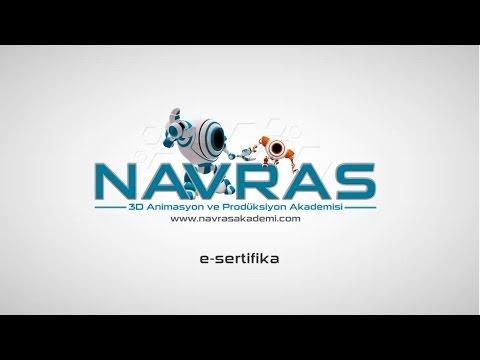 Navras Akademi kurgu&montaj E- sertifika Örneği