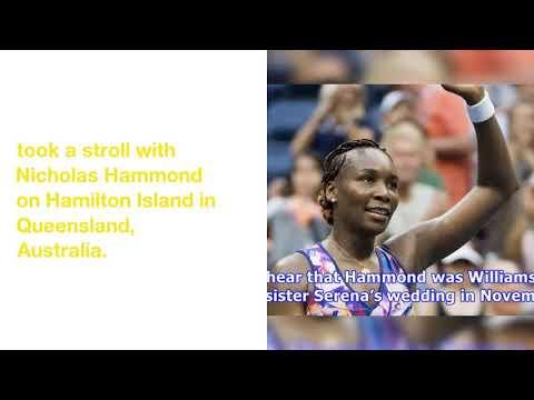 Venus Williams Hangs with BF Nicholas Hammond After Losing Australian Open