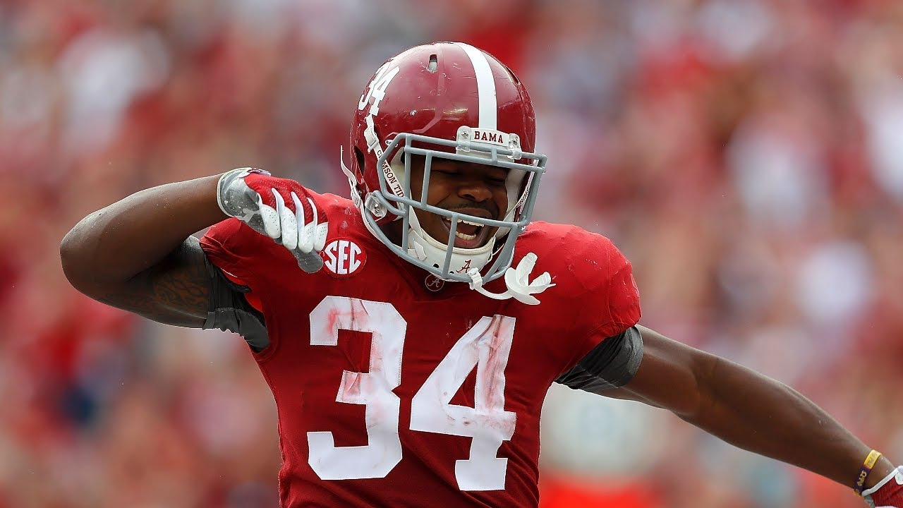 Damien Harris Highlights 2017 18 Alabama Rb ᴴᴰ Youtube