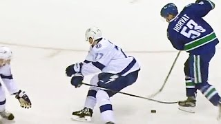 Horvat's slick dangle leads to Baertschi's goal