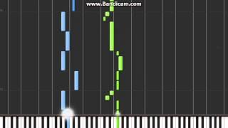 Pokémon Red/Blue Route 1 Theme on Synthesia