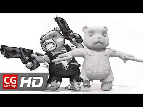 "CGI 3D Breakdowns HD ""Making of The Mega Plush"" by Matt Burniston | CGMeetup"