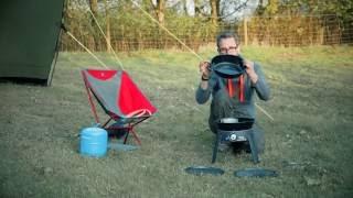 2019 Model Cadac Safari Chef 2 Pro QR Portable Gas BBQ RRP £140