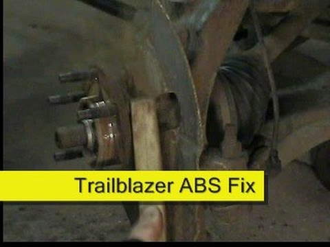 02 Chevy Trailblazer Fuse Box Abs Fix How To Diy Trailblazer Envoy Youtube