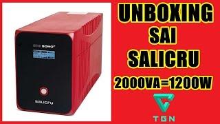 UNBOXING SAI SALICRU SPS SOHO+ 2000VA-1200W.