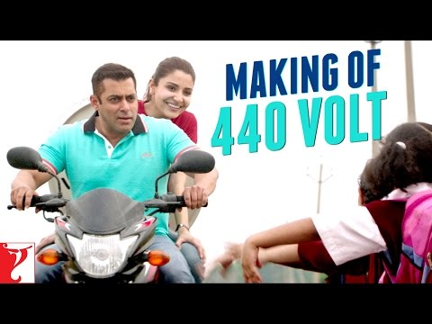 Making of 440 Volt Song | Sultan | Salman...