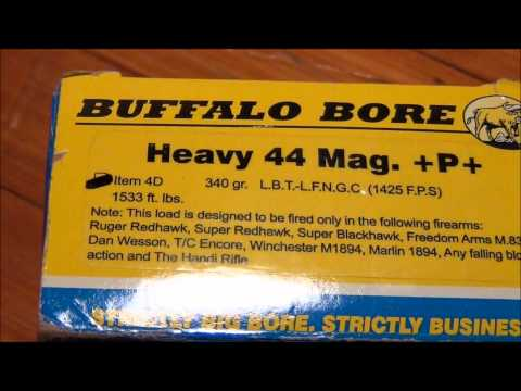 HOT 44 Magnum Buffalo Bore Loads