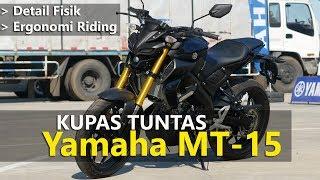 VLOG : Kupas Tuntas Fisik New Yamaha MT15    TMCBLOG