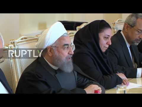 Armenia: Iranian President Rouhani holds bilateral talks with Sargsyan in Yerevan