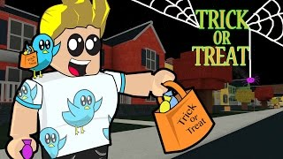 Roblox / Trick or Treat in Hallowsville - It's time for Halloween Fun! / Gamer Chad Plays