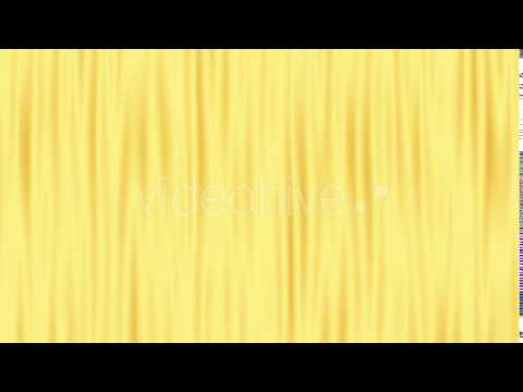 Golden Motion Background Curtains